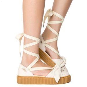 Puma Fenty Creeper Bow Platform Sandals